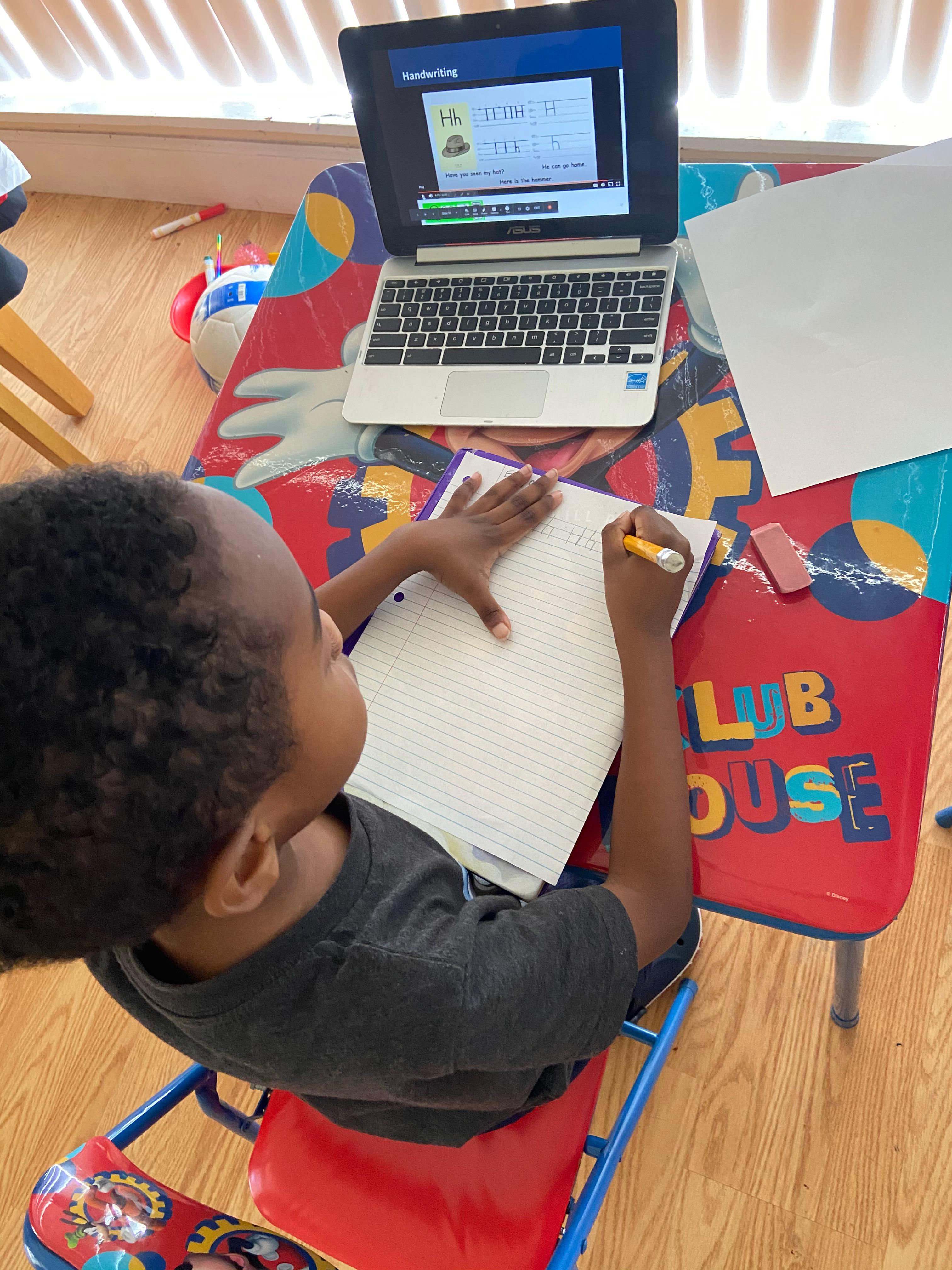 Student in classroom at KIPP Schools