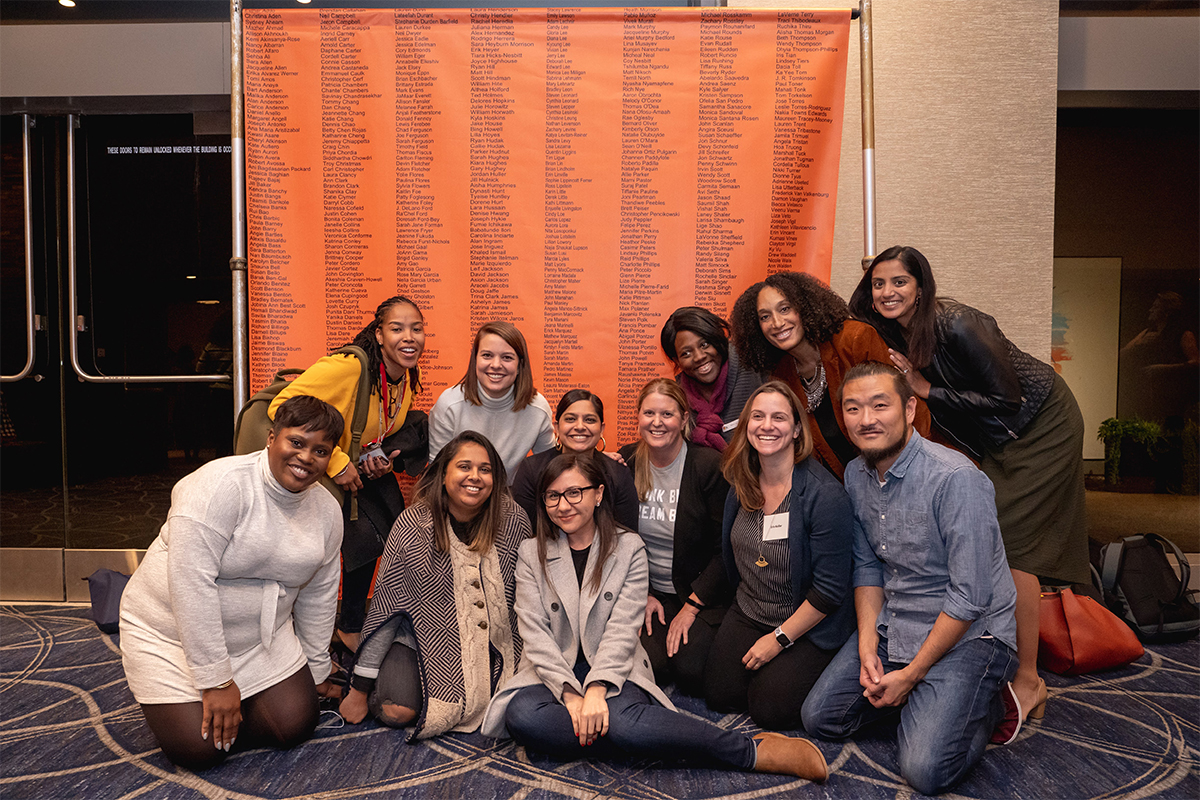The Broad Center Los Angeles staff members at the annual forum held for alumni of The Broad Center programs in January 2020