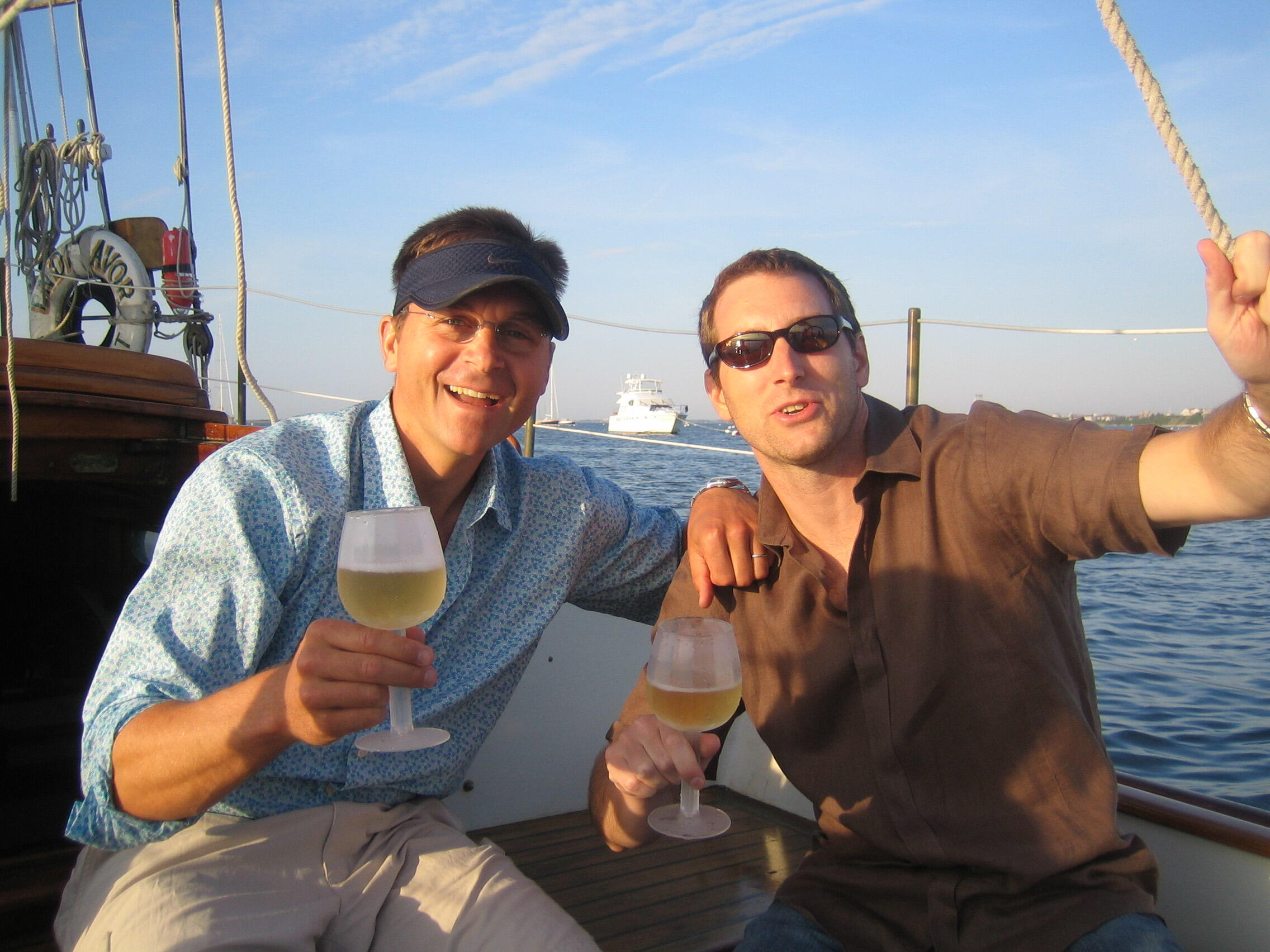Stu and Matt