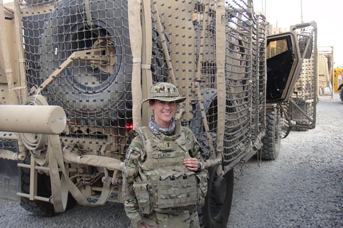 Military person in uniform
