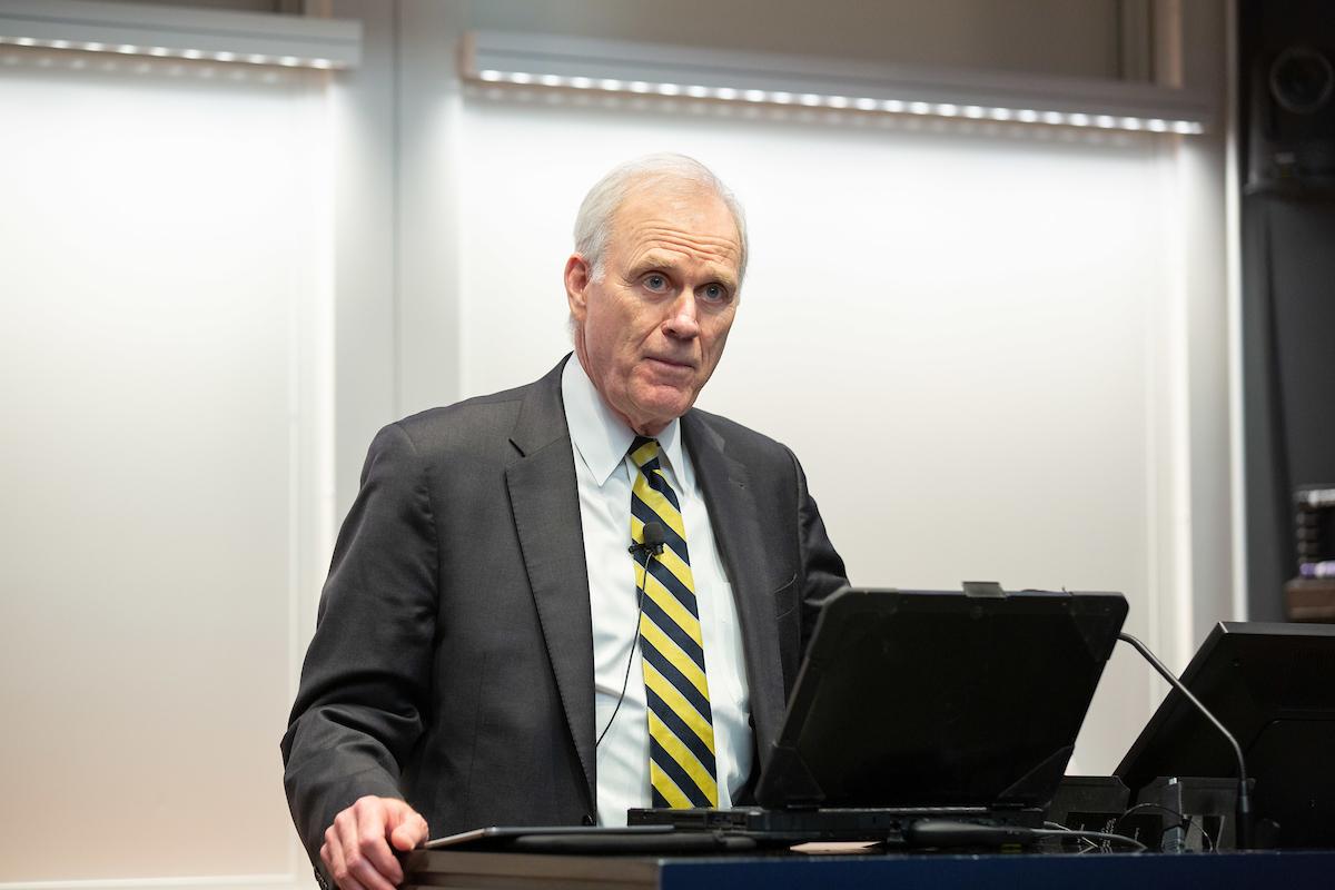 Former Secretary of the Navy Richard V. Spencer: Consider the Human Element in Decision Making