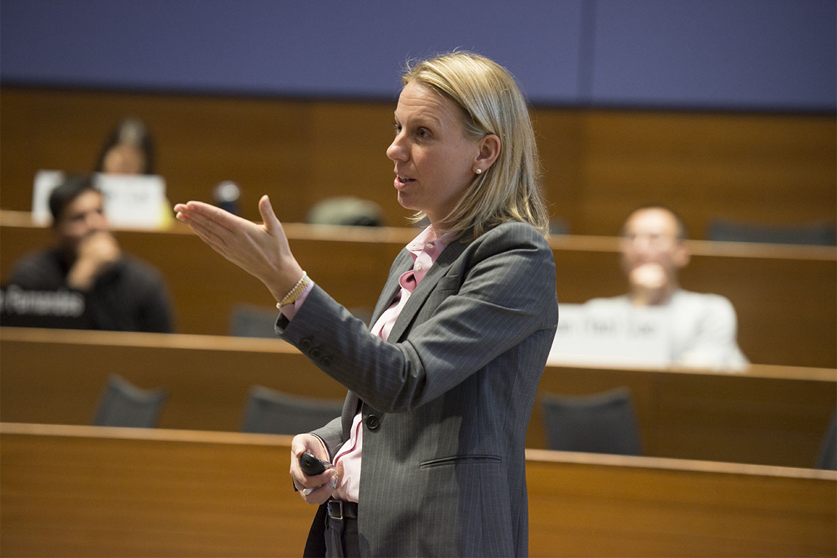 photo of Marissa King teaching