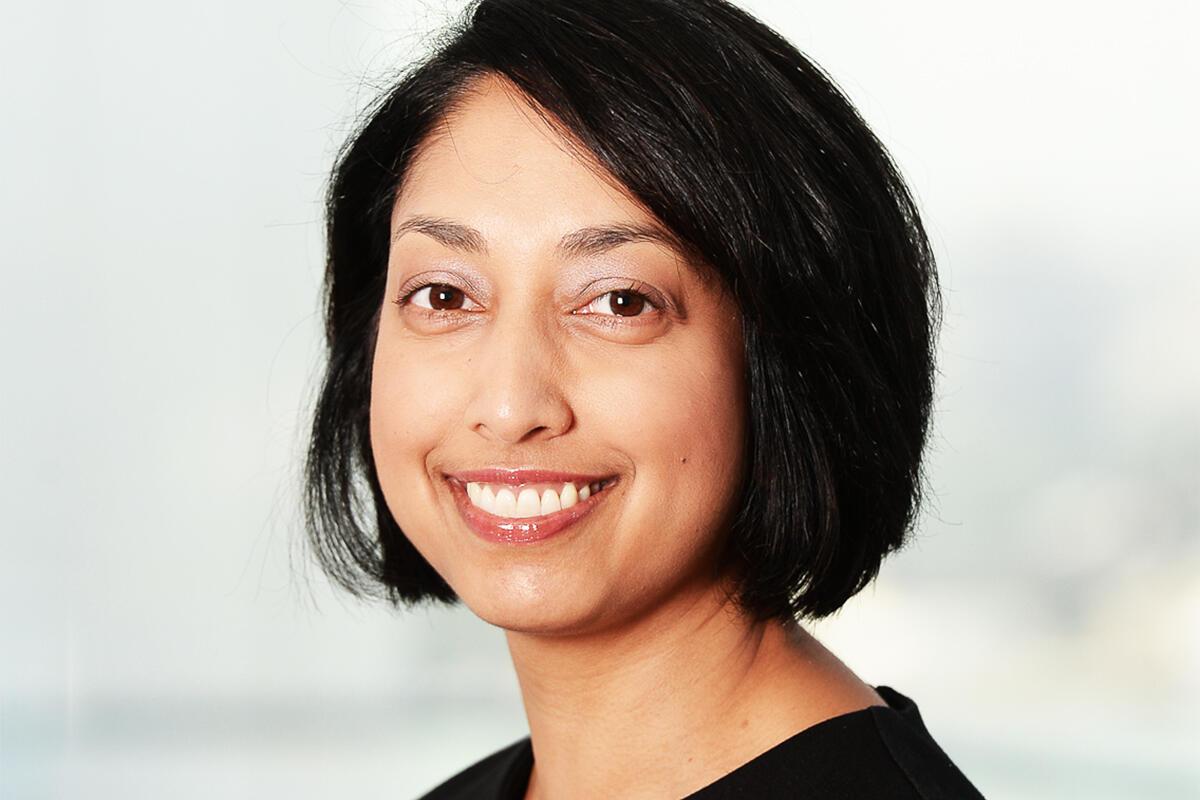 headshot of Radha Kuppalli