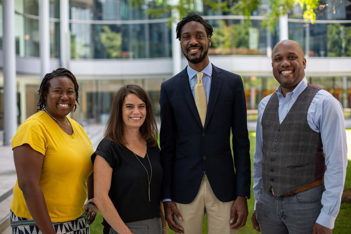 The four Pozen-Commonwealth Fund Fellows in the Class of 2023