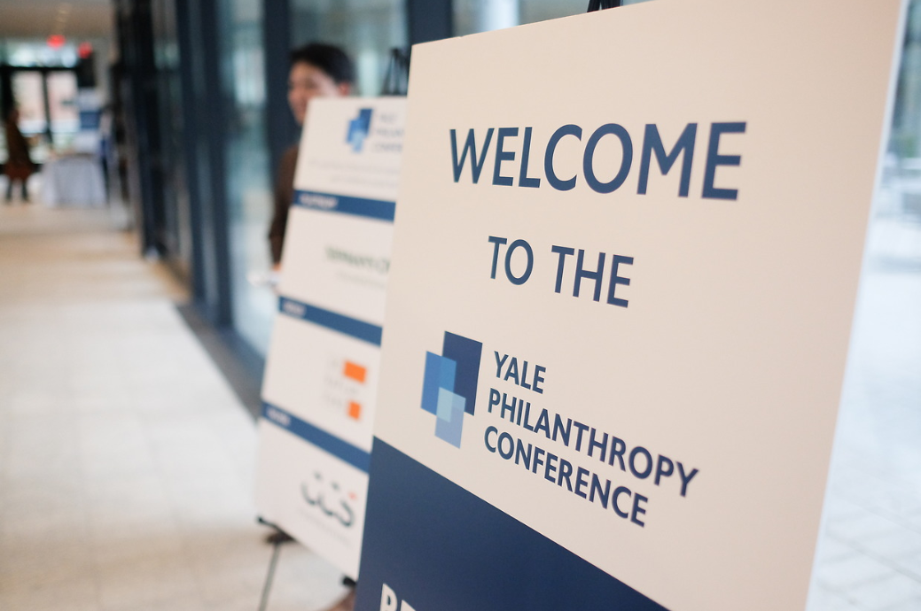 welcome to the 2018 Yale Philanthropy Conference