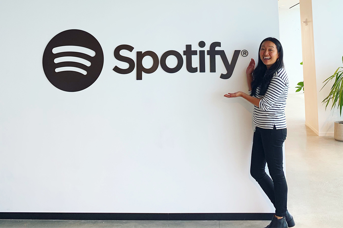 First day on the job at Spotify