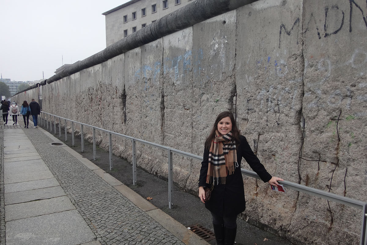 At the Berlin Wall