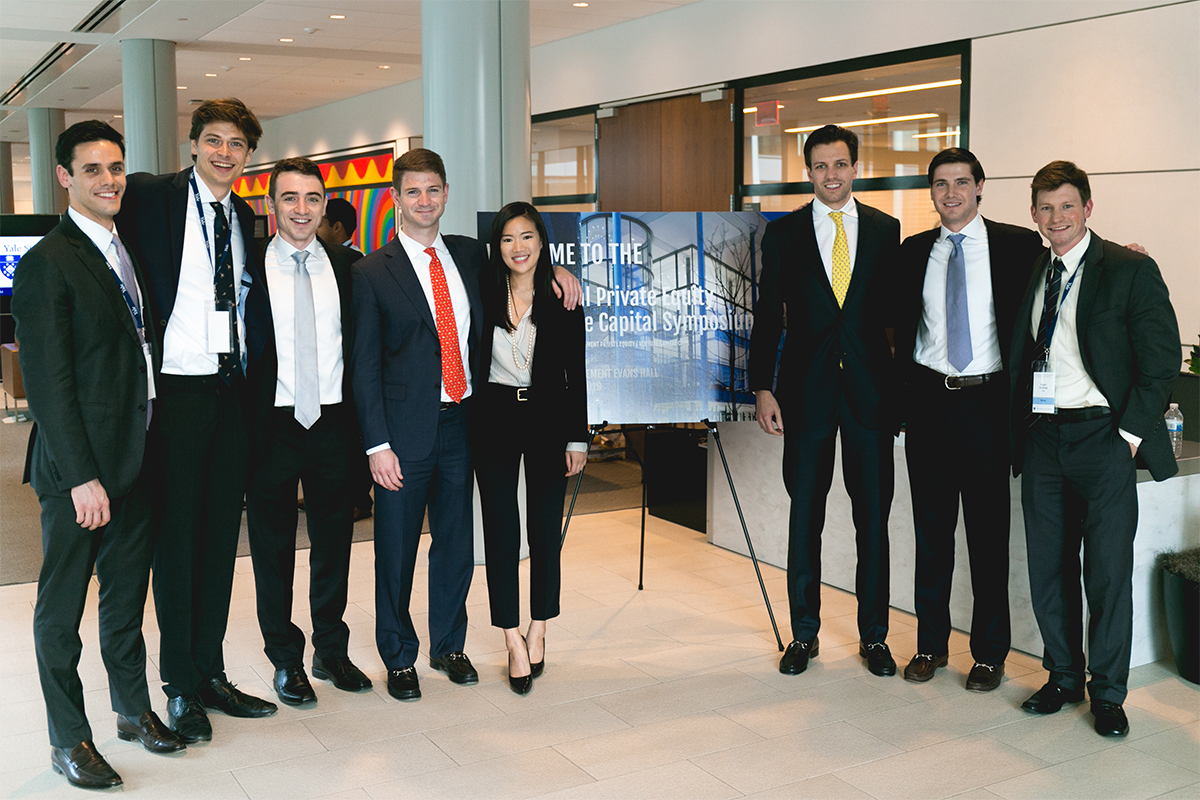 Yale SOM Private Equity & Venture Capital Symposium organizers