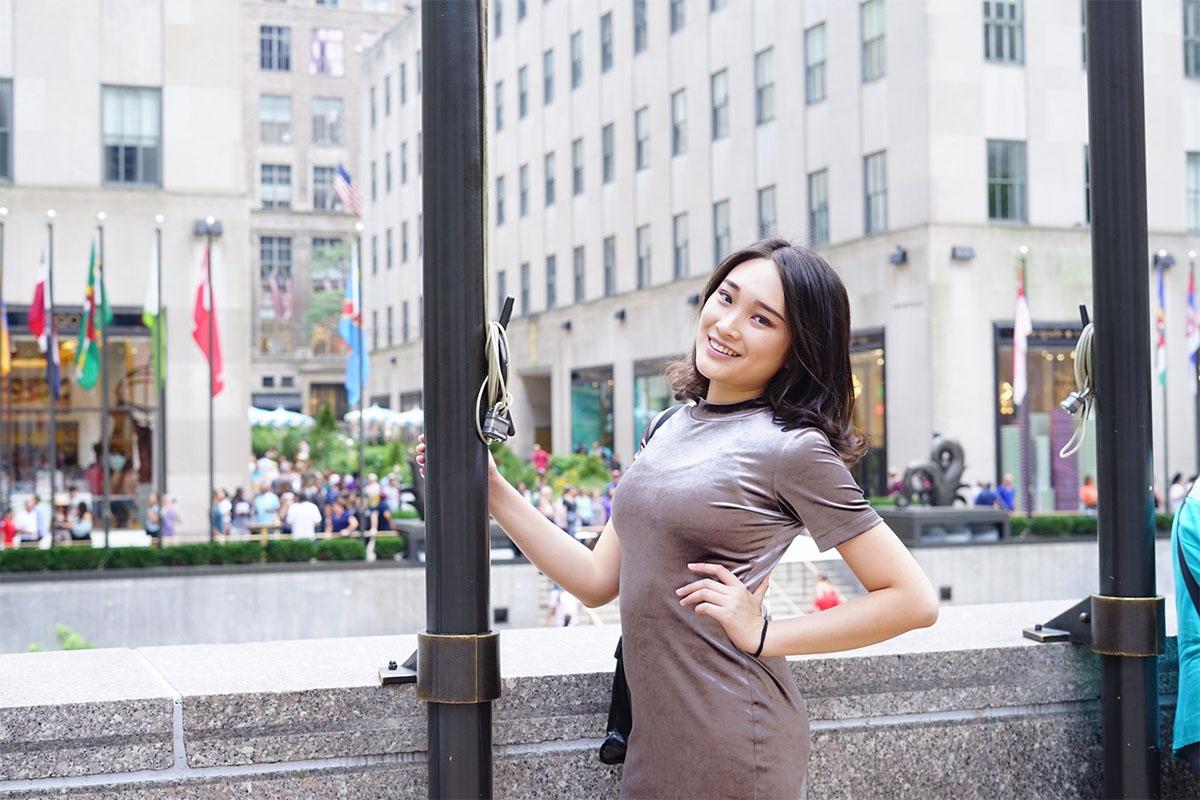 Yukie Huang in New York City