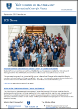 ICF September 2019 Newsletter