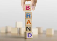 Blocks that spell brand