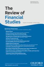 RFS Climate Finance